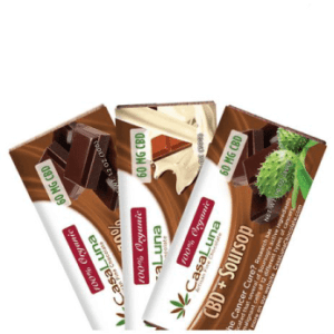 CasaLuna: CBD Chocolate Bar (60 mg CBD)