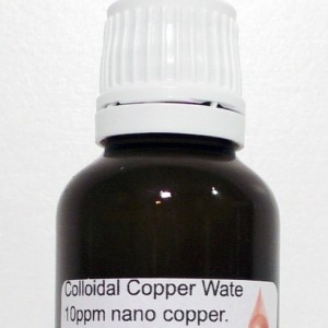 Buy Colloidal Copper Water 10 ppm nano