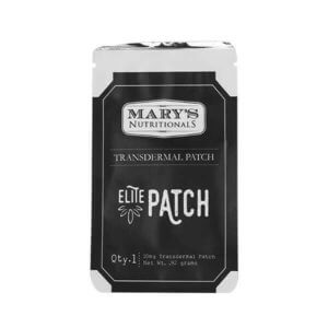 Mary's Nutritionals: Cannabis Patch with CBD (10mg CBD)