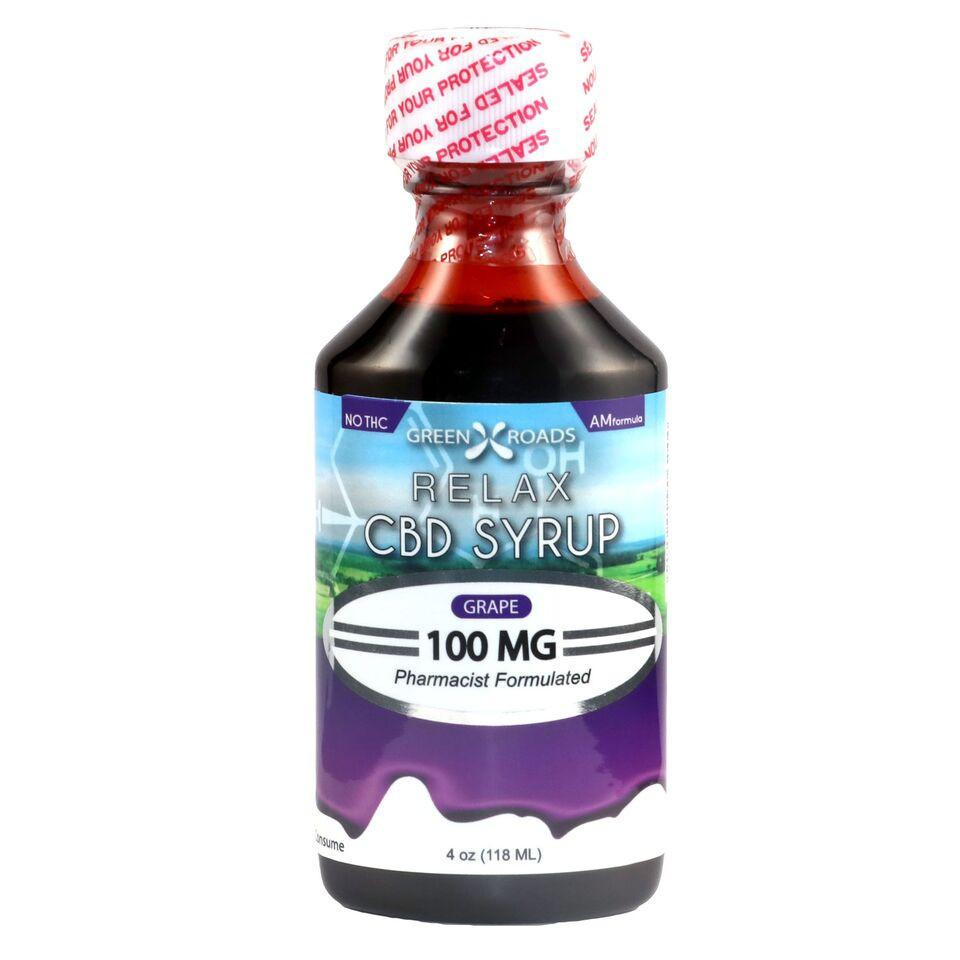 100mg CBD RELAXATION SYRUP