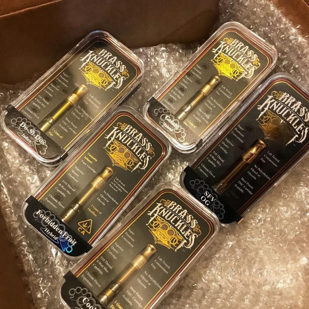 wholesale Brass Knuckles Vape Cartridge online